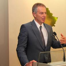 Tony Blair gjat nj vizite n Kosov | Foto: FB