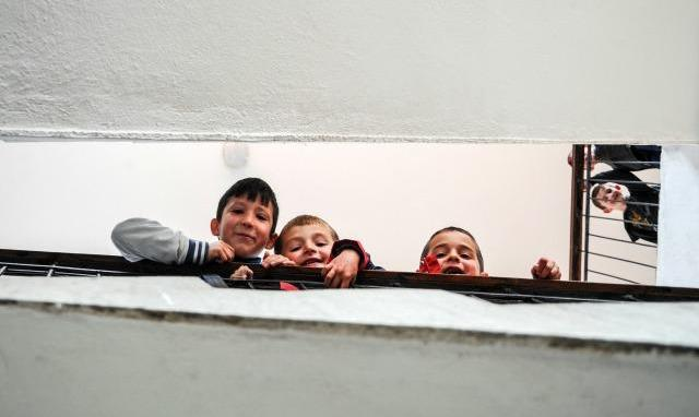 Nx�n�sit e shkoll�s fillore n� Restelic�.Foto: Atdhe Mulla