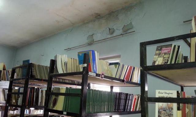 Gjendja e mjerueshme n� bibliotek�n e vjet�r